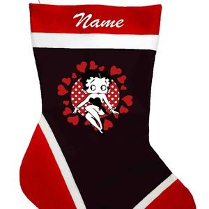 Betty Boop Personalized Christmas Stockings